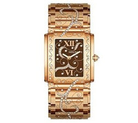 Patek Philippe Ladies Twenty-4 (RG- Diamonds/Brown/RG Bracelet)