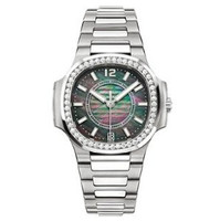 Patek Philippe Ladies Automatic Nautilus ( SS- Diamonds/Black MOP/SS Bracelet)