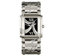 Patek Philippe Ladies Twenty-4 (WG- Diamonds/Black/WG Bracelet)