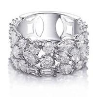 5.11 Ct Diamond Right Hand Ring