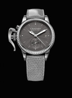 Graham London Chronofighter 1695 Romantic Grey Diamonds Steel Watch 2CXNS.A01A