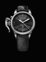Graham London Chronofighter 1695 Romantic Black Dia Steel Watch 2CXNS.B03A