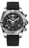 Breitling Chronomat 41 Steel Dia Bezel Diver Pro III Strap Tang AB0140AA/BC04