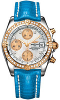 Breitling Chrono Cockpit Steel RG Diamonds Lizard C1335853/A654