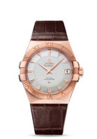 Omega Constellation Chronometer 38mm Sedna Gold Watch 123.53.38.21.02.001