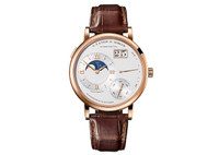 A. Lange & Sohne Grand Lange 1 Moon Phase Pink Gold Watch 139.032