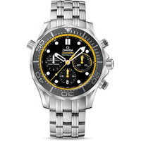 Omega Seamaster 300M Chrono Diver Regatta Steel Watch 212.30.44.50.01.002
