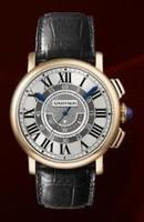 Cartier Rotonde Central Chronograph (RG/Silver/