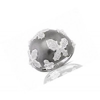 .57ct Diamond Right Hand Ring In 18k White Gold