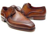 Paul Parkman Men's Brown Derby Dress Shoes For Men (IDSU12LF)