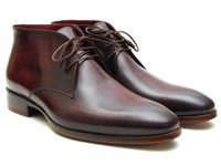 Paul Parkman Men's Chukka Boots Brown & Bordeaux (IDCK43E8)