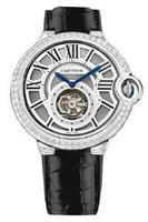 Cartier Ballon Bleu Tourbillon WG Diamond Watch HPI00258