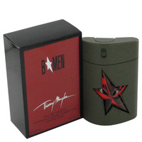 B Men by Thierry Mugler Toilette  Spray Refillable Rubber Flask 3.4 oz