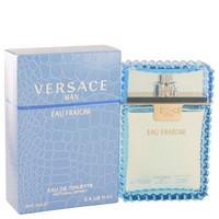 Versace Man by Versace Eau Fraiche Toilette  Spray (Blue) 3.4 oz