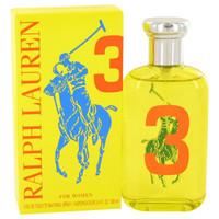 Big Pony Yellow 3 by Ralph Lauren Toilette  Spray 3.4 oz