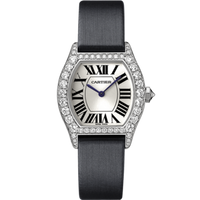 Cartier Cartier Tortue Small (WG Diamonds/ Silver/Fabric )