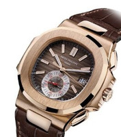 Patek Philippe Nautilus Chronograph 5980R (RG/Brown/Leather)