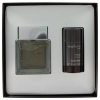 Euphoria by Calvin Klein Gift Set -- 3.4 oz Toilette  Spray + 2.6 oz Deodorant Stick
