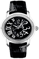 Audemars Piguet Ladies Millenary Black & White 77301ST.ZZ.D002CR.01