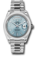 Rolex Watches: Day-Date 40 Platinum 228206 ibdmip