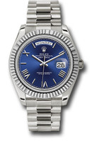 Rolex Watches: Day-Date 40 White Gold 228239 blrp