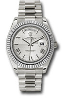 Rolex Watches: Day-Date 40 White Gold 228239 sqmrp