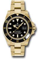 Rolex Watches: Submariner Gold 116618 bkd
