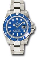 Rolex Watches: Submariner White Gold 116619LB
