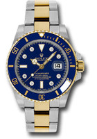 Rolex Watches: Submariner Steel and Gold 116613 bld