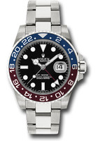 Rolex Watches: GMT-Master II White Gold 116719 BLRO
