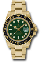 Rolex Watches: GMT-Master II Yellow Gold 116718 g