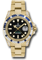Rolex Watches: GMT-Master II Yellow Gold 116758SA