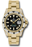 Rolex Watches: GMT-Master II Yellow Gold 116758SANR