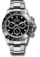 Rolex Watches: Daytona Steel 116500LN Black