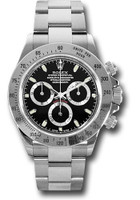 Rolex Watches: Daytona Steel 116520 blk