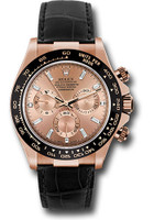Rolex Watches: Daytona Everose Gold - Leather Strap 116515LN pbd
