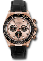 Rolex Watches: Daytona Everose Gold - Leather Strap 116515LN pbk