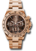 Rolex Watches: Daytona Everose Gold - Bracelet 116505 choc