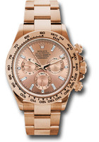 Rolex Watches: Daytona Everose Gold - Bracelet  116505 pbd