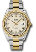 Rolex Watches: Datejust II 41mm Steel and Yellow Gold - Fluted Bezel - Oyster 116333 ido