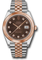 Rolex Watches: Datejust 41 Steel and Pink Gold - Smooth Bezel - Jubilee  126301 chodj