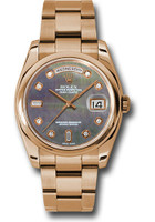 Rolex Watches: Day-Date President Pink Gold - Domed Bezel - Oyster 118205 dkmdo