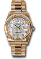Rolex Watches: Day-Date President Pink Gold - Domed Bezel - President 118205 mtdp