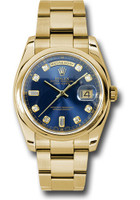 Rolex Watches: Day-Date President Yellow Gold - Domed Bezel - Oyster 118208 bdo