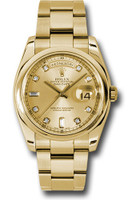 Rolex Watches: Day-Date President Yellow Gold - Domed Bezel - Oyster  118208 chdo