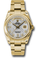 Rolex Watches: Day-Date President Yellow Gold - Domed Bezel - Oyster 118208 mtdo