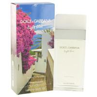 Light Blue Escape to Panarea by Dolce & Gabbana Eau De Toilette Spray 3.3 oz