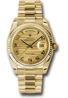 Rolex Watches: Day-Date President Yellow Gold - Fluted Bezel - President  118238 chwap