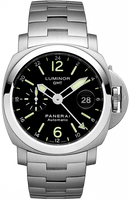 PANERAI LUMINOR GMT AUTOMATIC ACCIAIO PAM00297