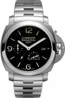 PANERAI LUMINOR 1950 3 DAYS GMT POWER RESERVE AUTOMATIC ACCIAIO PAM00347